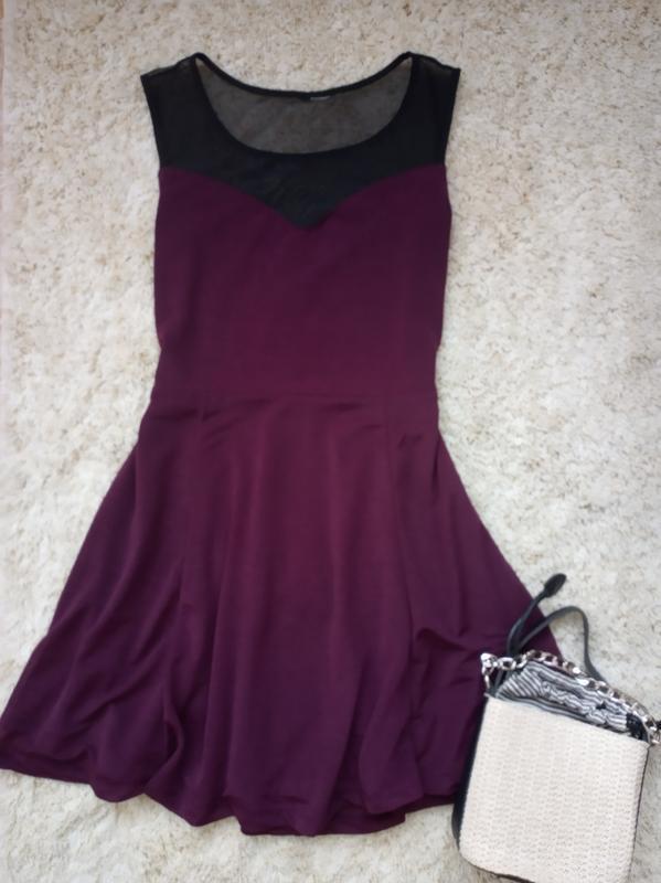 Платье с сеточкой сарафан h&m