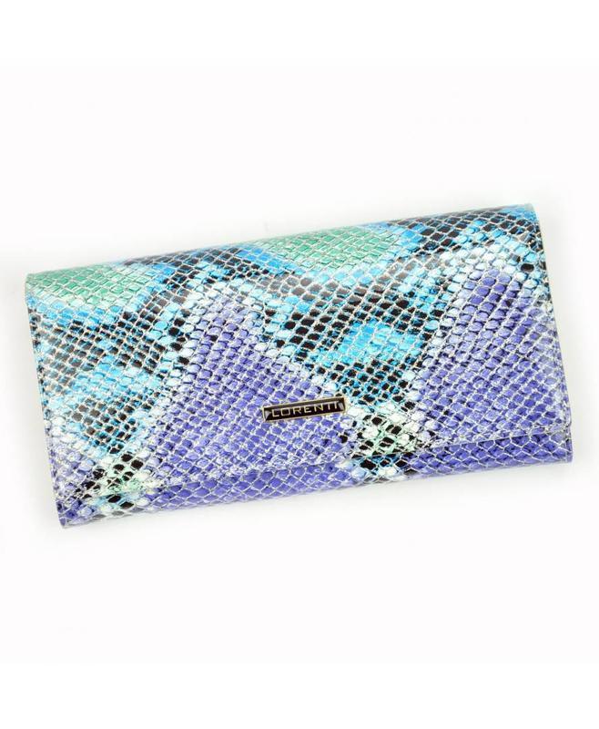 Женский кожаный кошелек lorenti 72401-sm snake rfid
