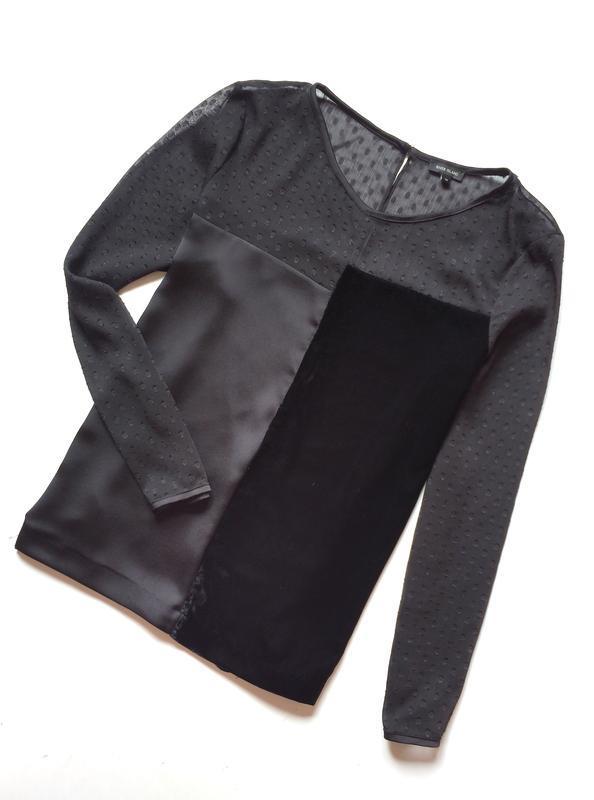 River island комбинированная блуза