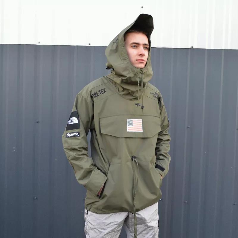 мужская куртка Supreme x the north face gore-tex, до - 10