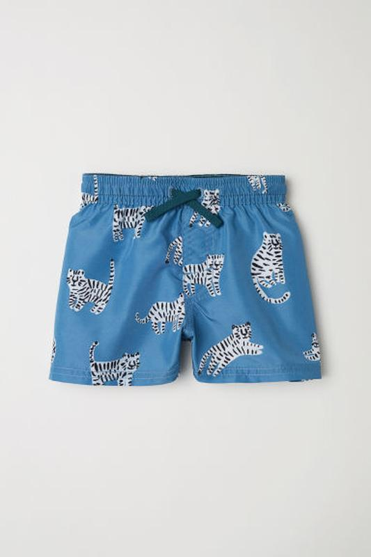 H&m шорты для плавания 1-2 года 86-92 см для купания пляжные
