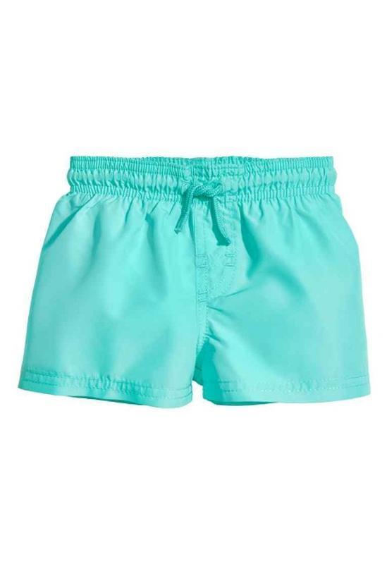 H&m шорты для плавания 1-2 года 86-92 см для купания пляжные б...