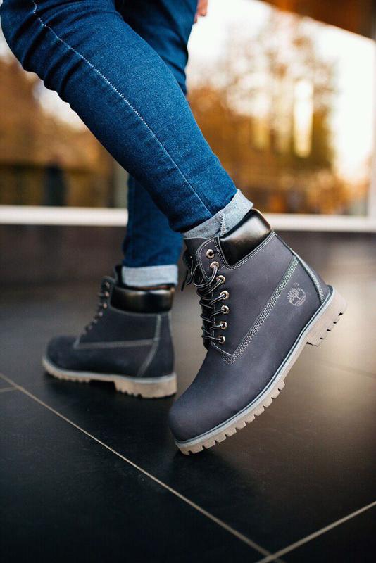 мужские ботинки Timberland, натуральной нобук, всё размеры!!!