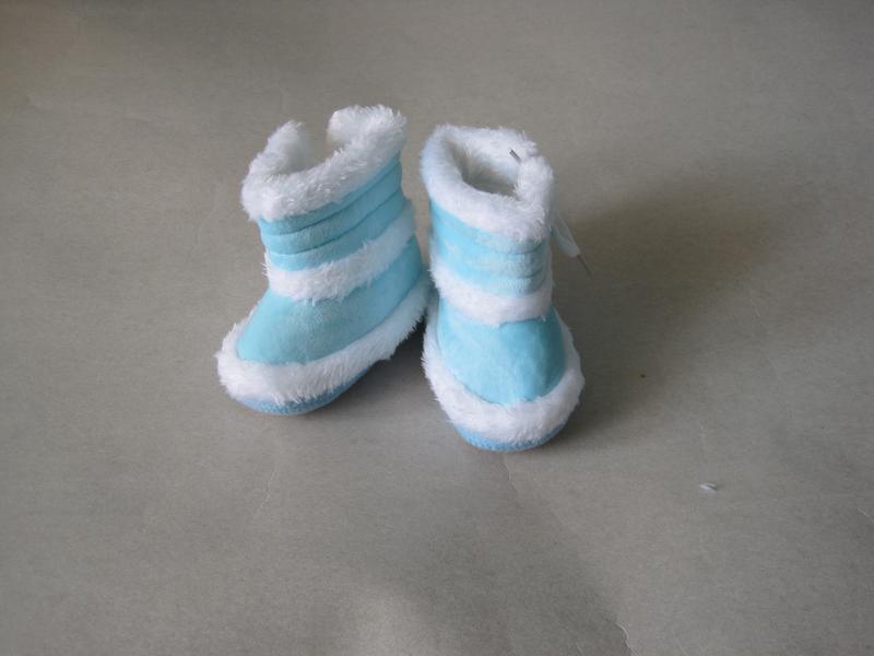 10 первая обувь малыша/ пинетки/ сапожки - Фото 3