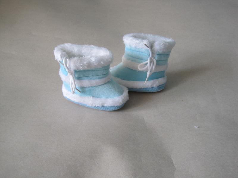 10 первая обувь малыша/ пинетки/ сапожки - Фото 6
