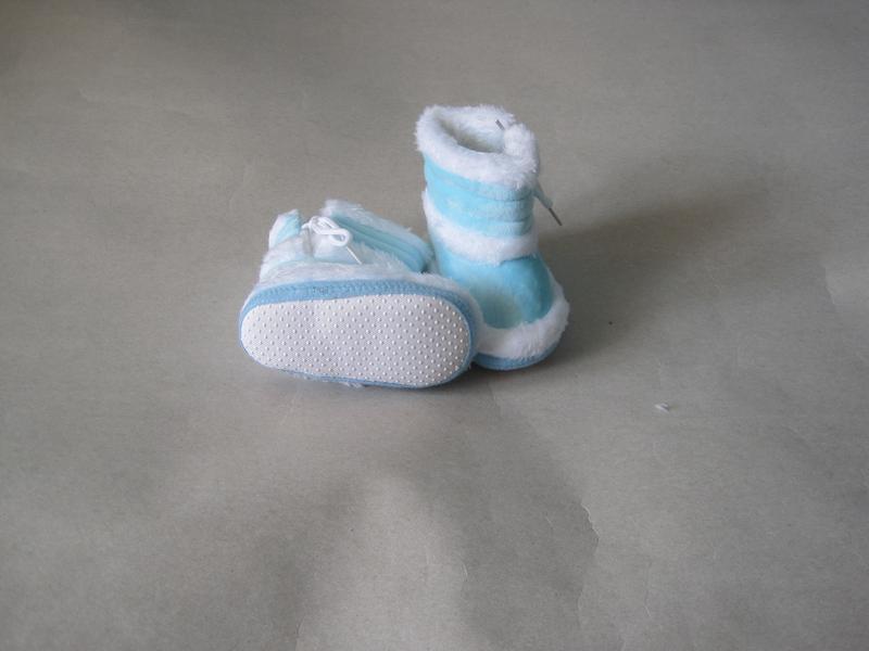 10 первая обувь малыша/ пинетки/ сапожки - Фото 8