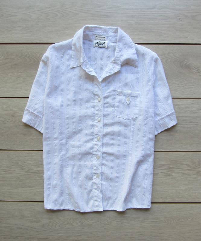 Акция до нового года! №136 фактурная рубашка футболка с коротк...