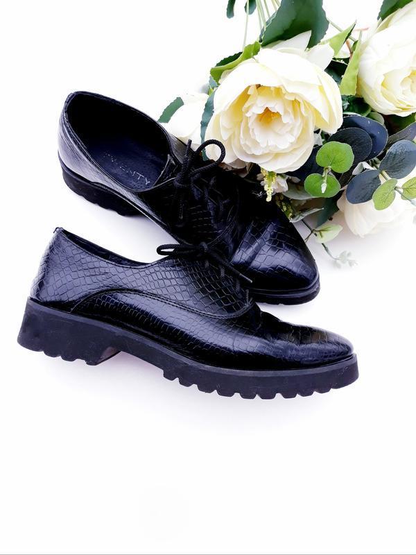 Кожание туфли лоферы броги качественные туфли с натуральной кожи