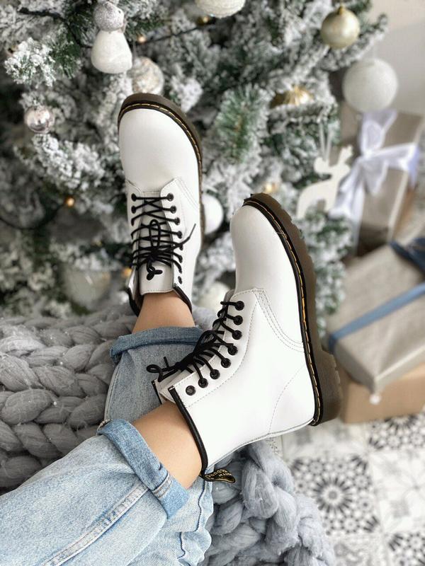 женские ботинки зимние всё размеры,dr. marten's
