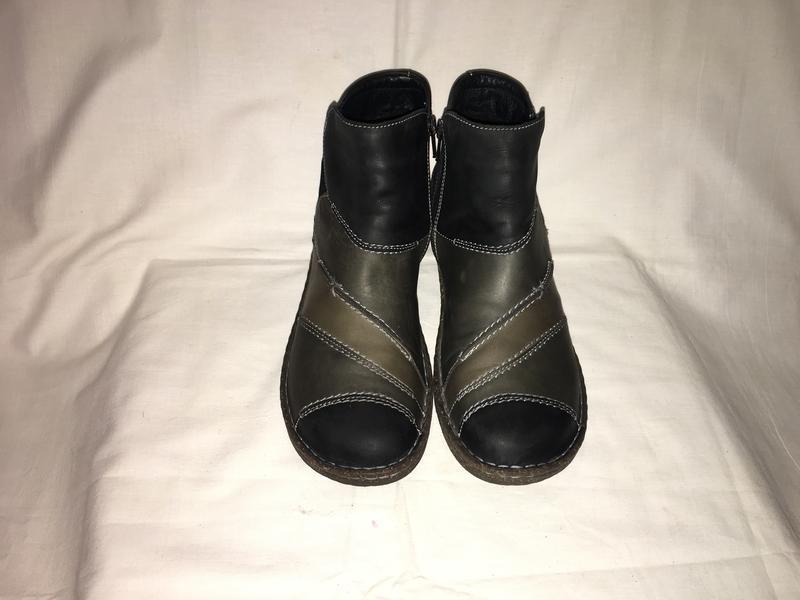 Ботинки утеплены *josef seibel* кожа германия р.41( 27.00 см) - Фото 2