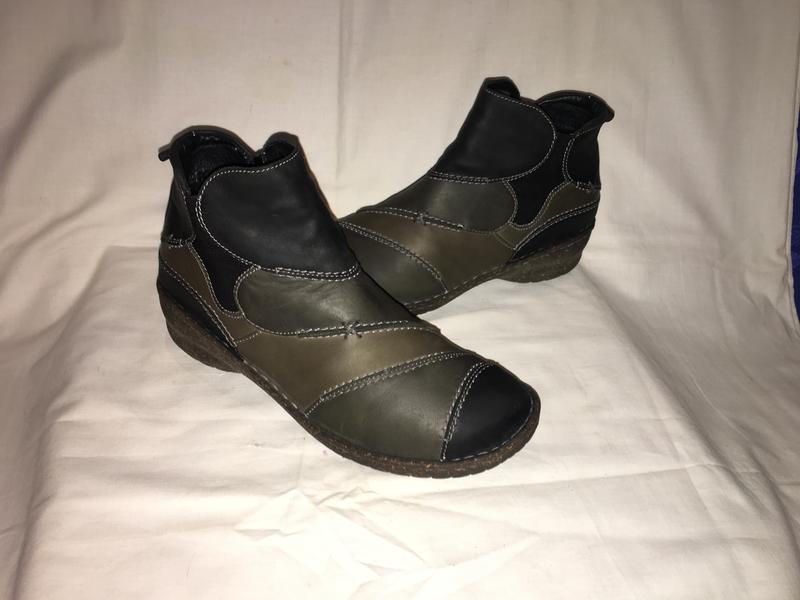 Ботинки утеплены *josef seibel* кожа германия р.41( 27.00 см) - Фото 3