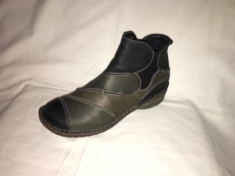 Ботинки утеплены *josef seibel* кожа германия р.41( 27.00 см) - Фото 6