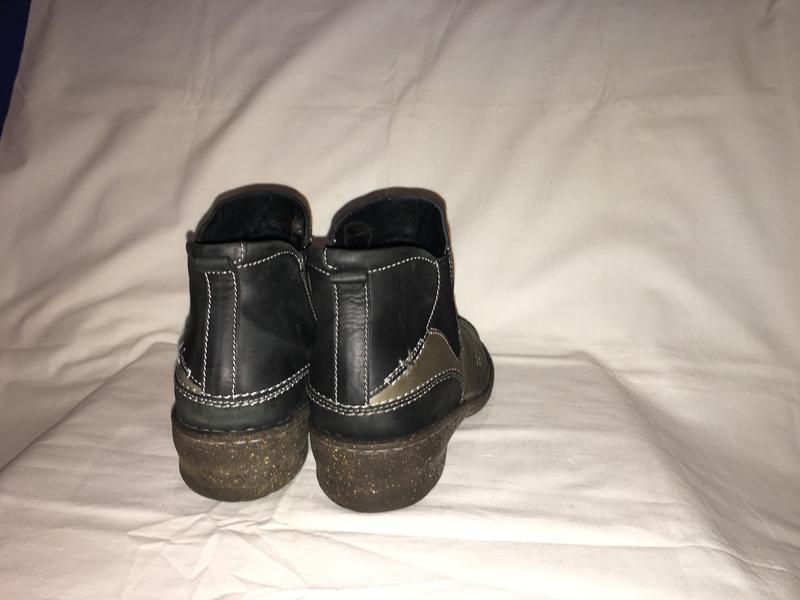 Ботинки утеплены *josef seibel* кожа германия р.41( 27.00 см) - Фото 7
