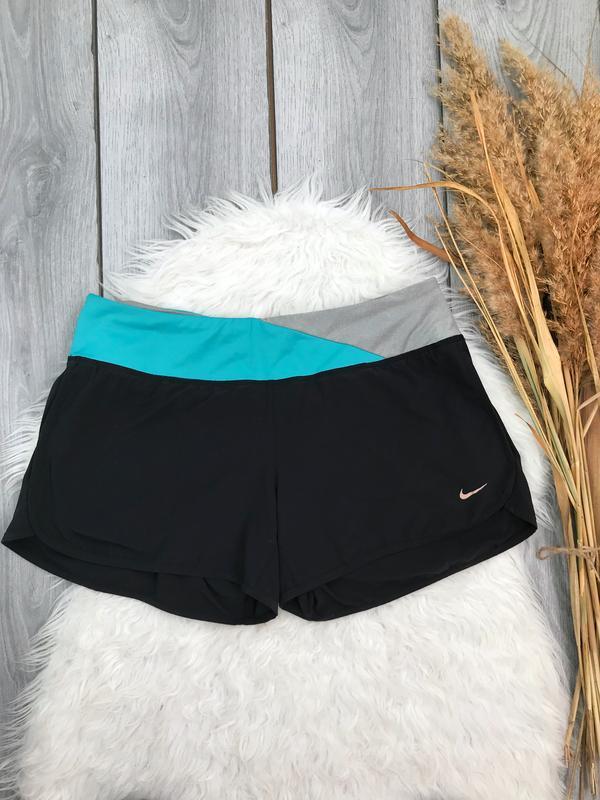 Nike dri-fit шорты классные спортивные оригинальные м 38 10
