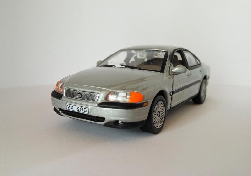 модель Volvo S80, Cararama/Hongwell масштаб 1:43 RARE