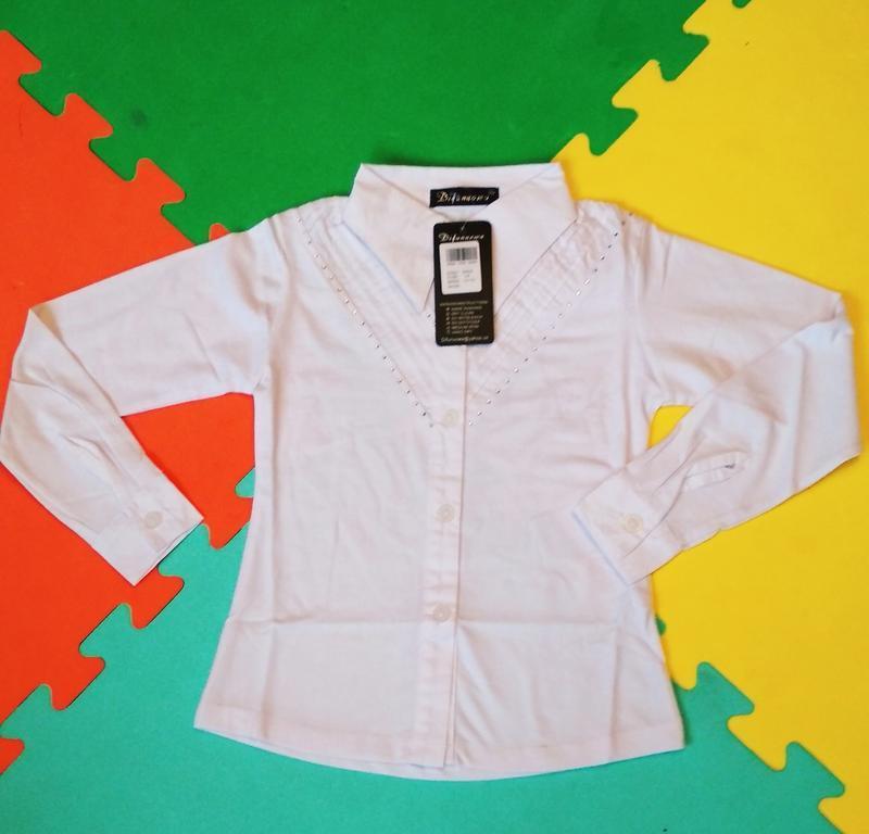 Акция!!! школьные блузки, рубашки для девочек. венгрия
