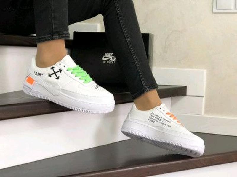 Женские кроссовки белые Nike Air Force 1 Jester XX