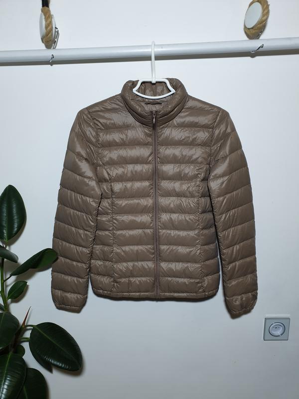 Ультра лёгкая куртка пуховик benetton