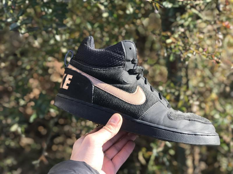 Nike court borough mid високі кросівки