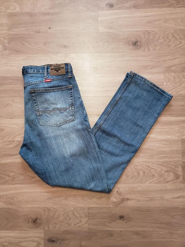 Wrangler flex w34 l32 джинси (джинсы)