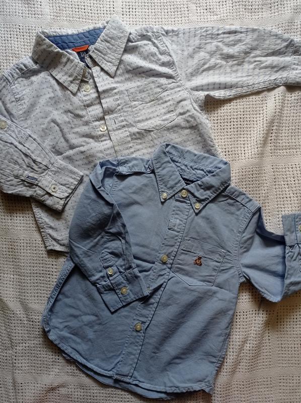 Комплект рубашек 86/92 gap
