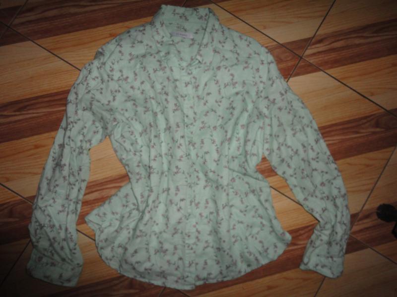 Нежная рубашка-блуза