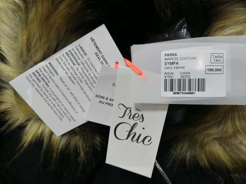 Новое пальто на пуху marese премиум линии tres chic куртка пух... - Фото 5