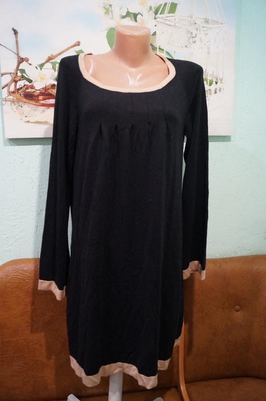 Трикотажное платье р.14,бренд marks&spencer