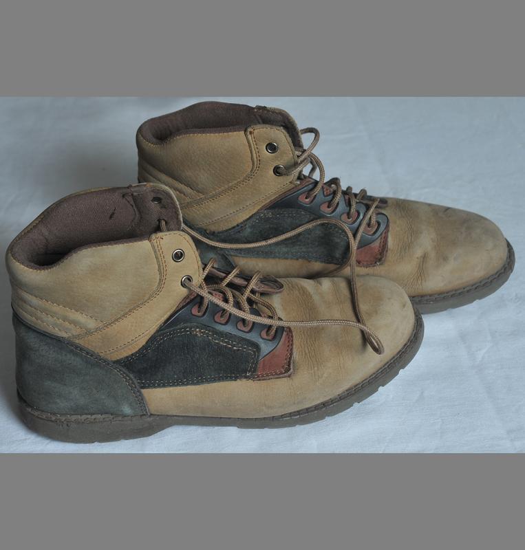 Замшевые ботинки hawks