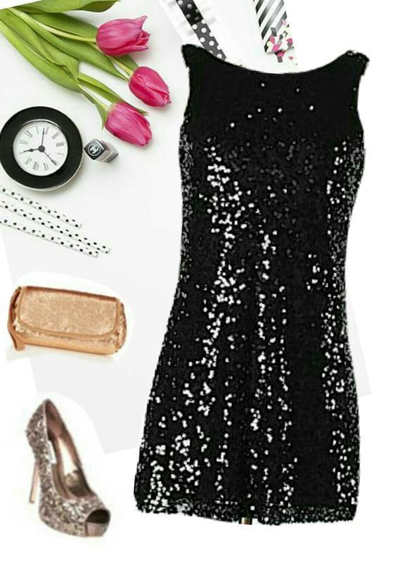 Блестящая туника в пайетках. мини платье.