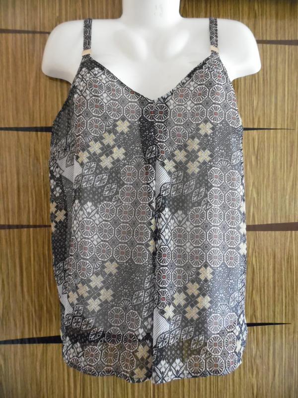 Блуза майка лето, новая m&co размер 14 – идет на 48-50+