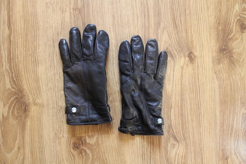 Суперстильные солидные мужские классические кожаные перчатки r...