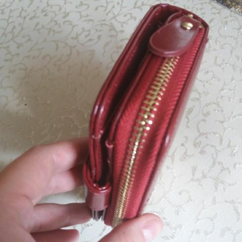 Жіночий шкіряний гаманець кошелек женский - Фото 4