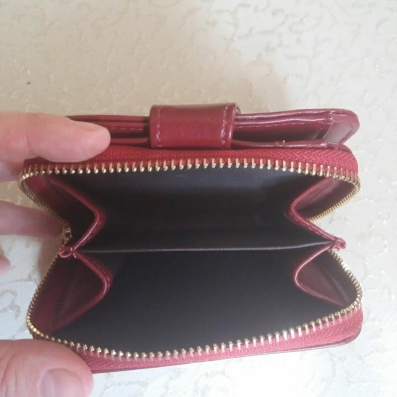 Жіночий шкіряний гаманець кошелек женский - Фото 5