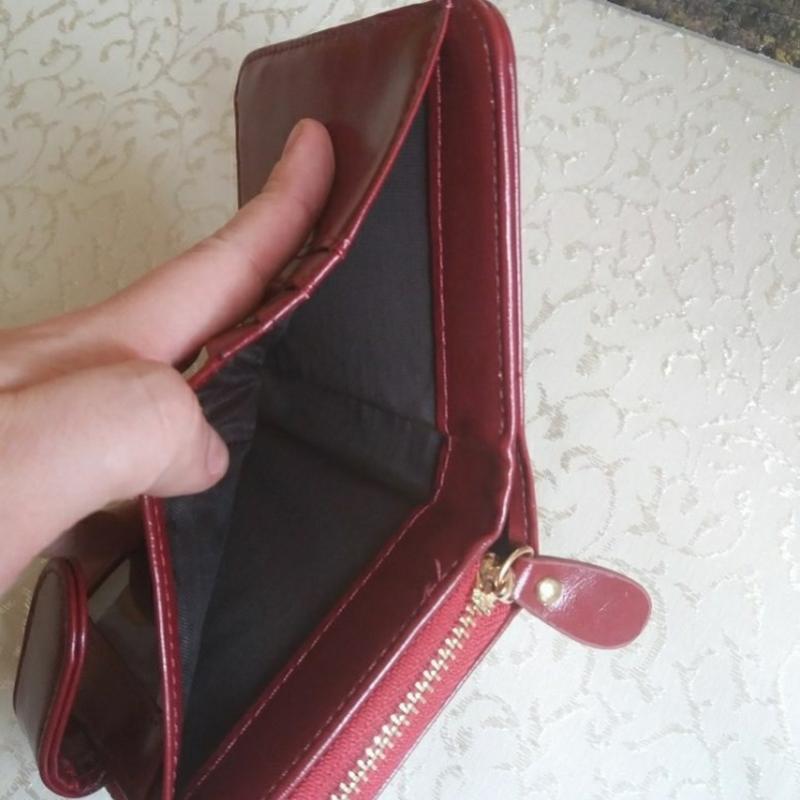 Жіночий шкіряний гаманець кошелек женский - Фото 6