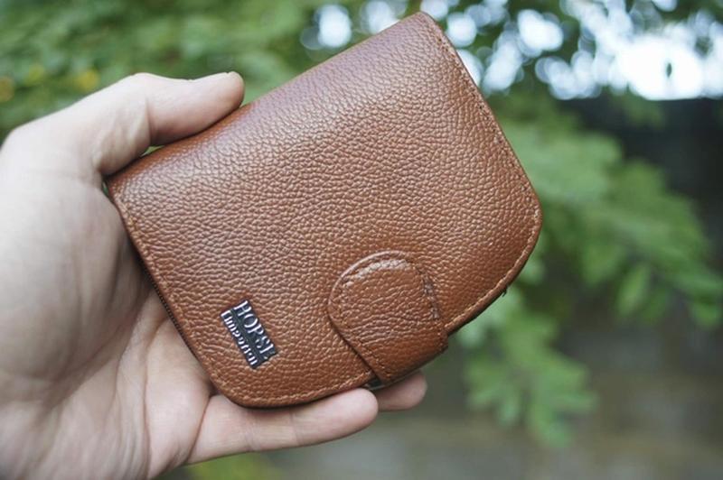 Женский небольшой кошелек из натуральной кожи гаманець шкіряний
