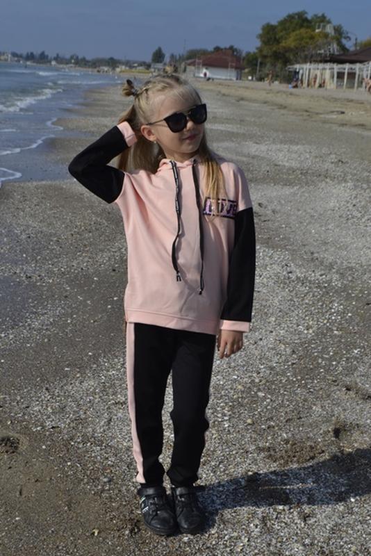 Спорт костюм шикарного качества спортивный спортивний для дівч... - Фото 3