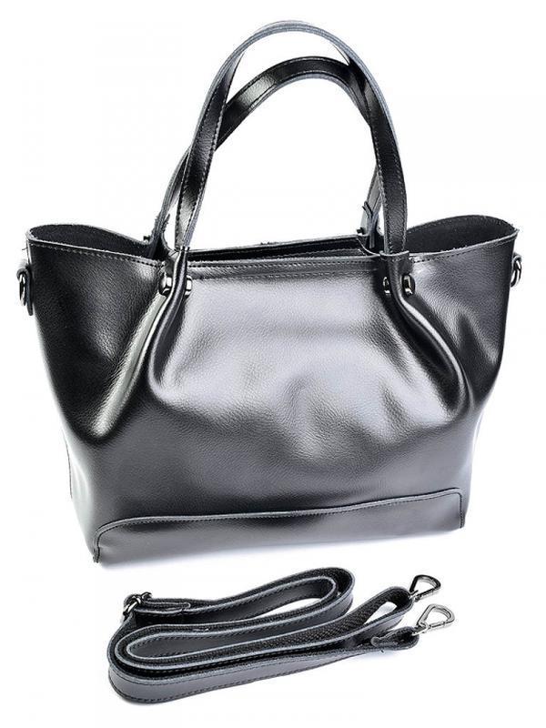 Женская кожаная сумка из натуральной кожи шкіряна жіноча большая