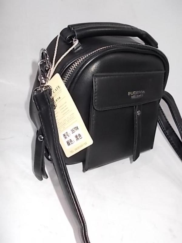 Черная женская сумка клатч женский екокожа