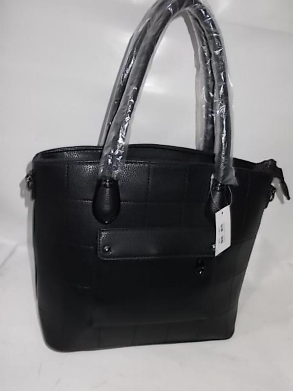 Женская сумка большая черная жіноча сумка на плече