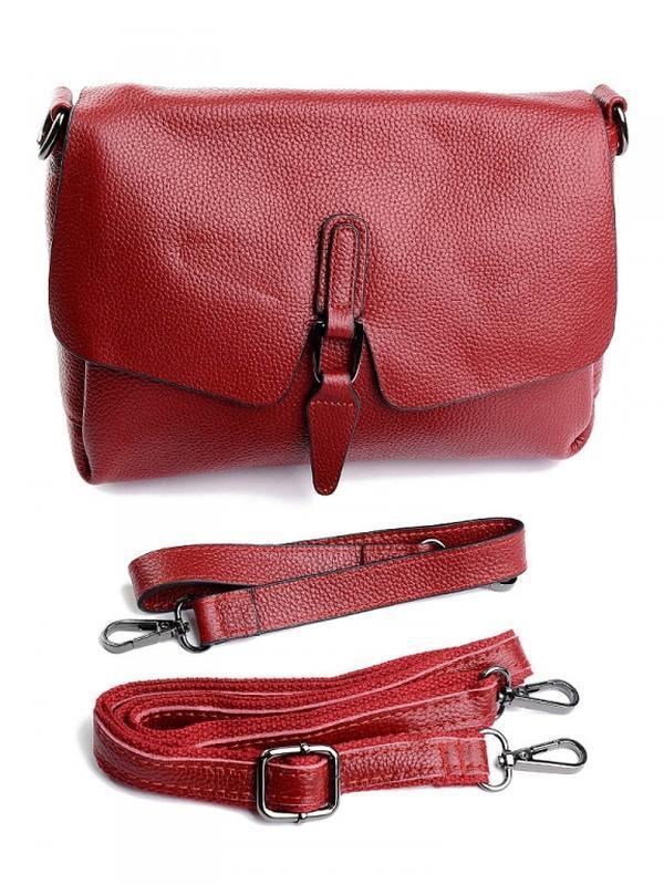 Женская кожаная сумка из натуральной кожи шкіряна жінлча клатч...