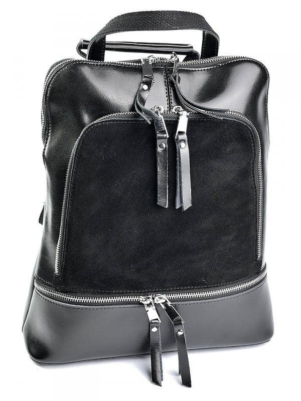 Женский кожаный рюкзак. жіночий шкіряний портфель из натуральн...