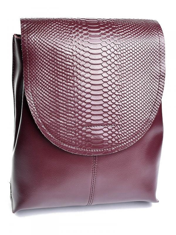 Женский кожаный рюкзак из натуральной кожи шкіряний жіночий