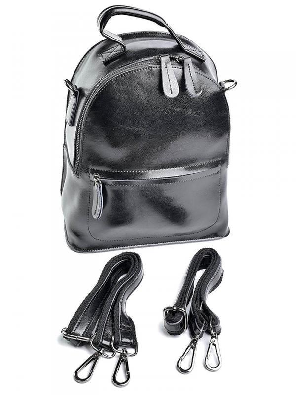 Женский кожаный рюкзак из натуральной кожи шкіряний жіночий по...