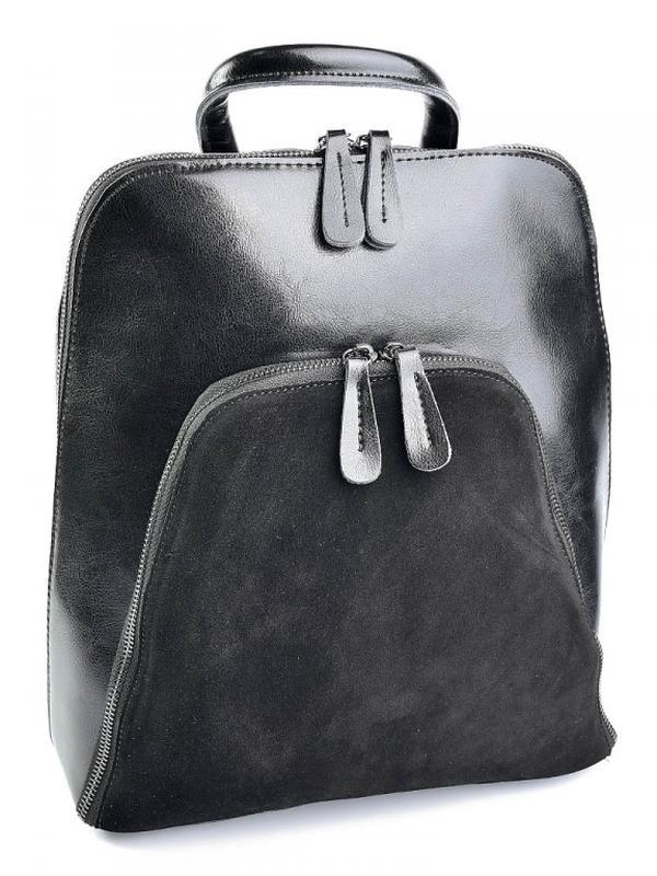Женскаякожаная сумка - рюкзак, кожаный из натуральной кожи шк...