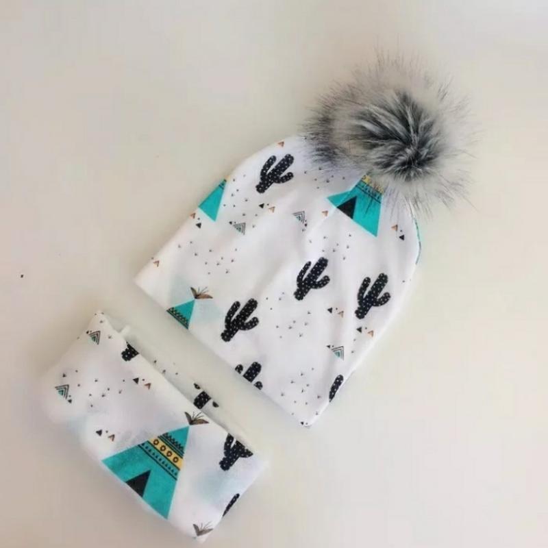 Набор шапочка и шарф снуд хомут шапка детский комплект