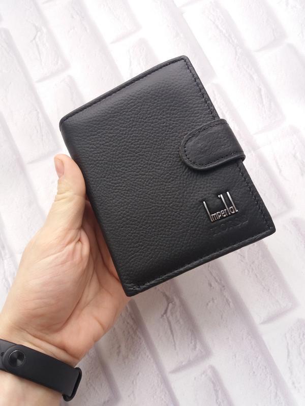 Кожаное портмоне из натуральной кожи мужское мужской кожаный к...