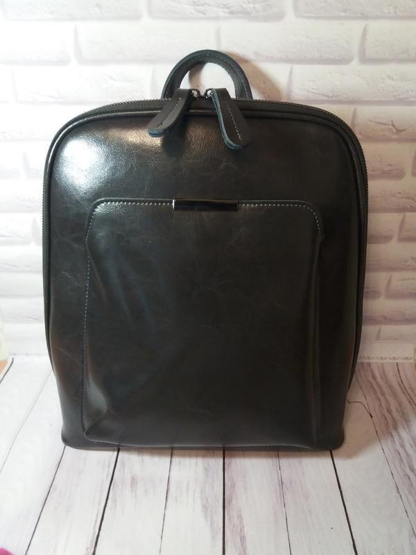 Кожаный женский рюкзак из натуральной кожи шкіряний жіночий по...