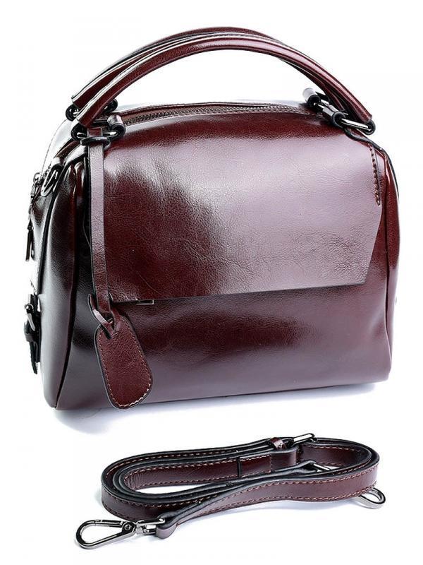 Женская кожаная сумка из натуральной кожи шкіряна жіноча сумка...