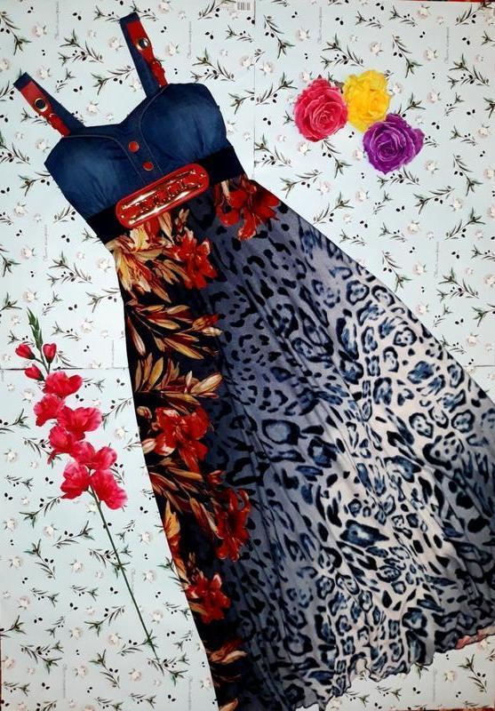 🎁1+1=3 джинсовый длинный сарафан платье zara с кожаными вставк...